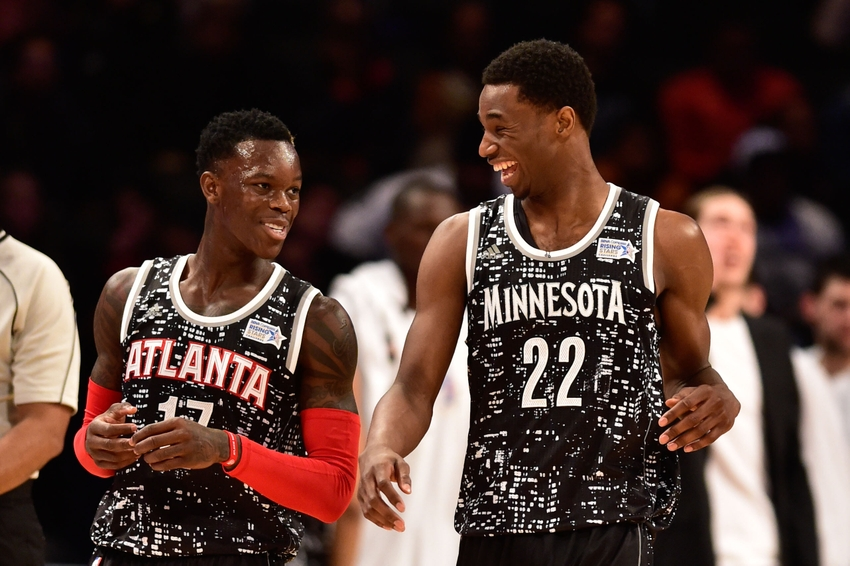 e313e36affb ... old nike hoops summit friends dennis schroder (left) and andrew wiggins  (right