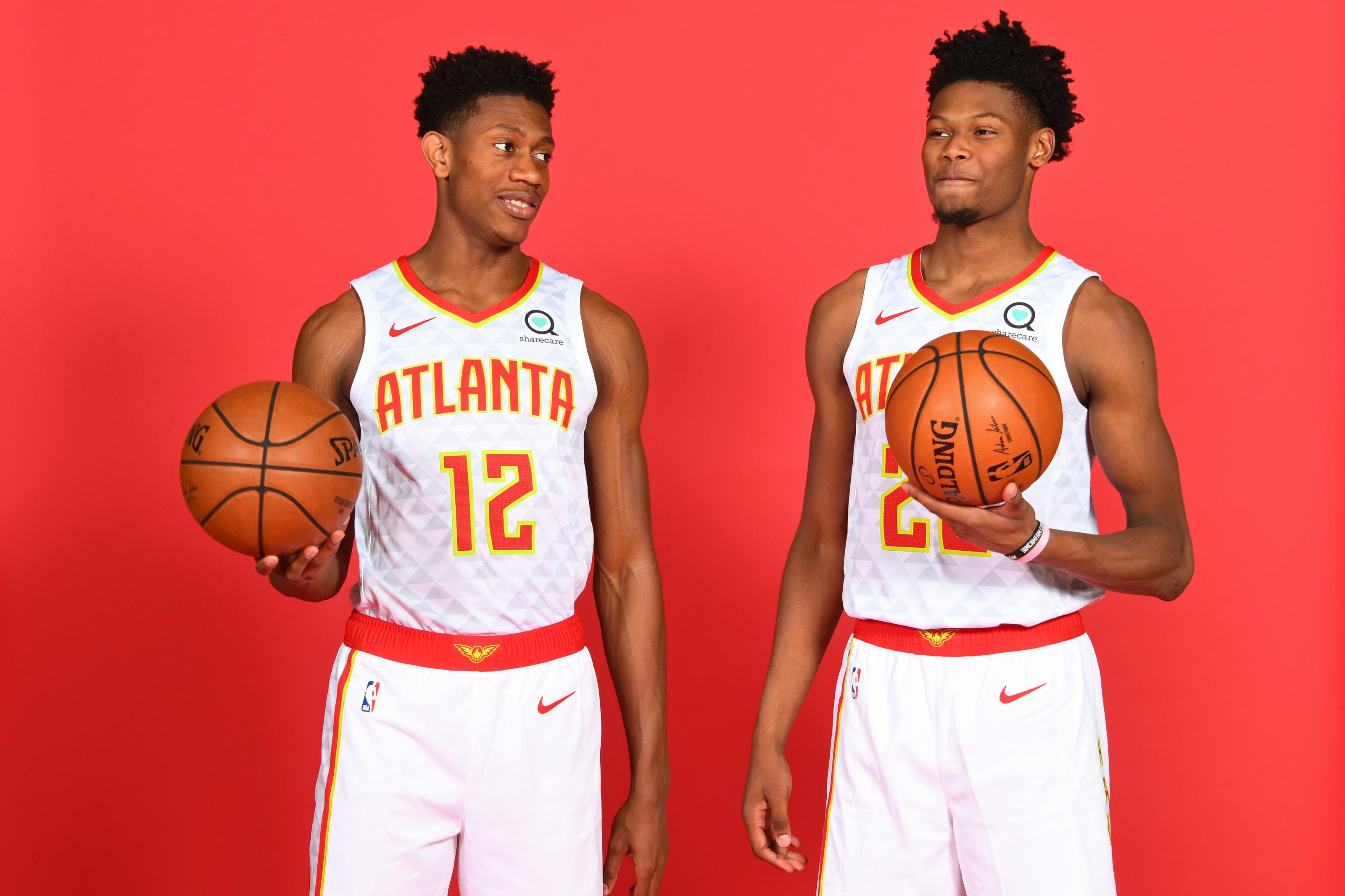 Atlanta Hawks Projected Starting Lineup For 2019 20 Season