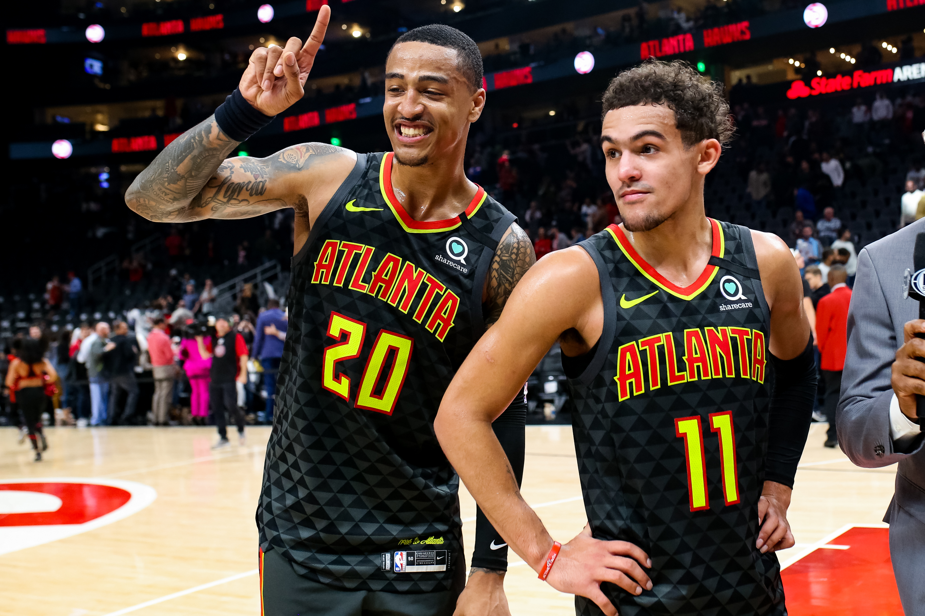 John Collins and Trae Young Crack ESPN's 25 Under 25 List