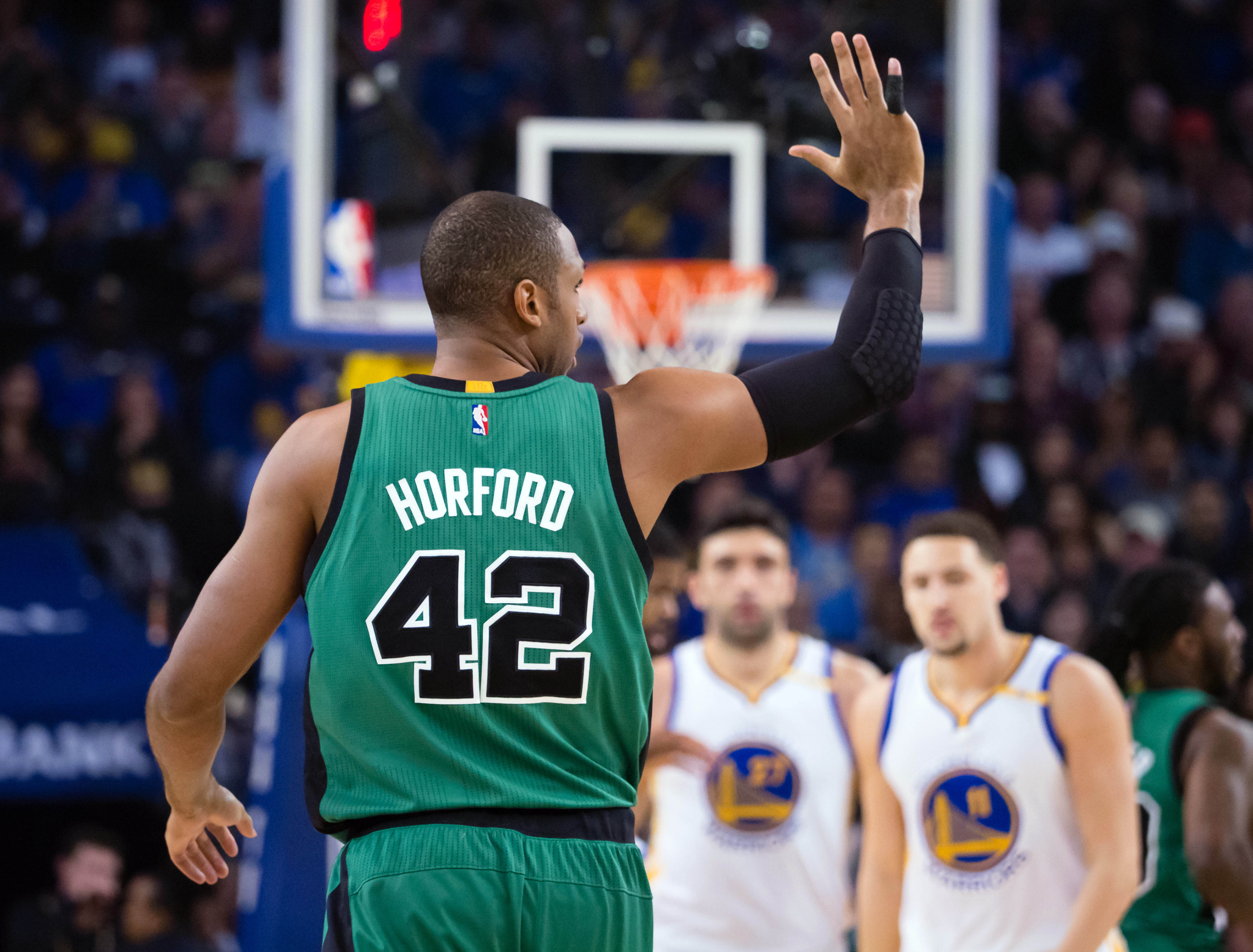 Hibbert and no 6 seed hawks al horford are two of the best centers - Mar 8 2017 Oakland Ca Usa Boston Celtics Center Al Horford 42 Calls Out To Teammates During The First Quarter Against The Golden State Warriors At