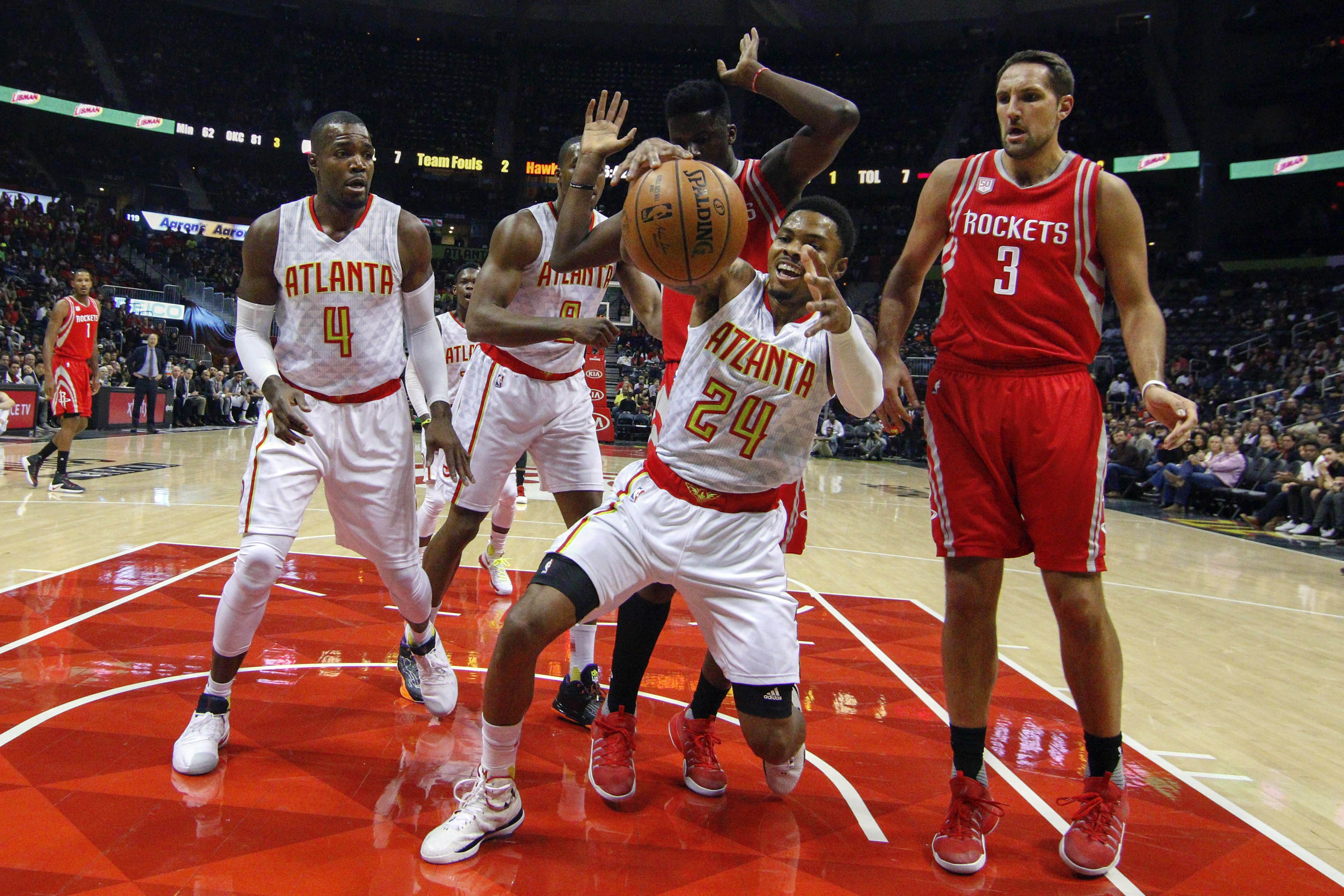 breaking down the atlanta hawks' best three-man lineups in january